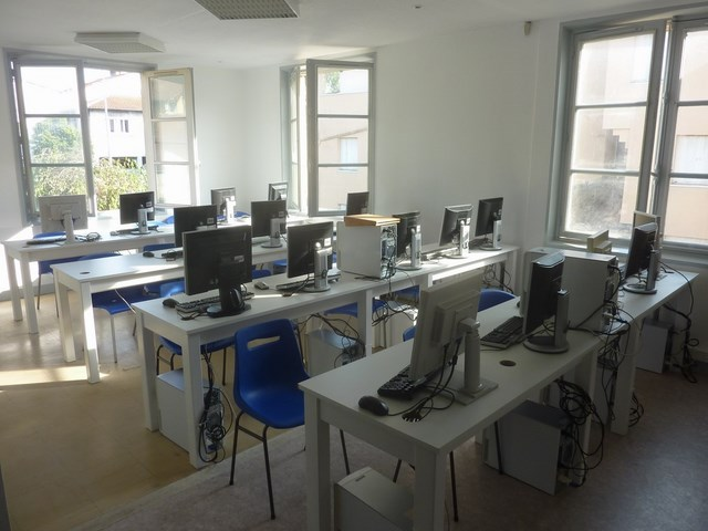 Photo salle informatique